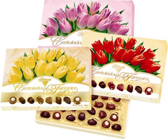Шоколадные секреты (тюльпаны) 238г