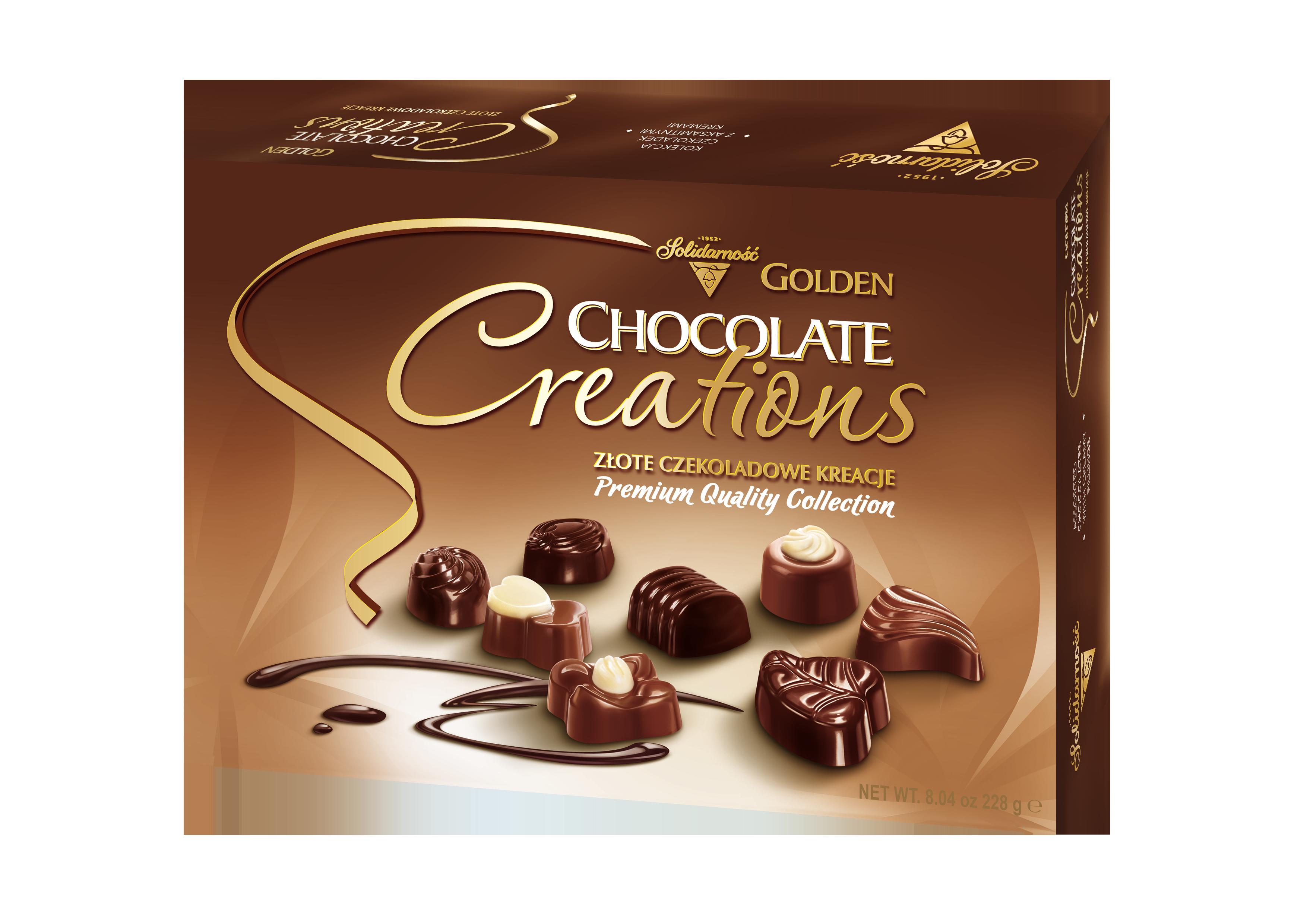 Золотое Шоколадное Творение 228г