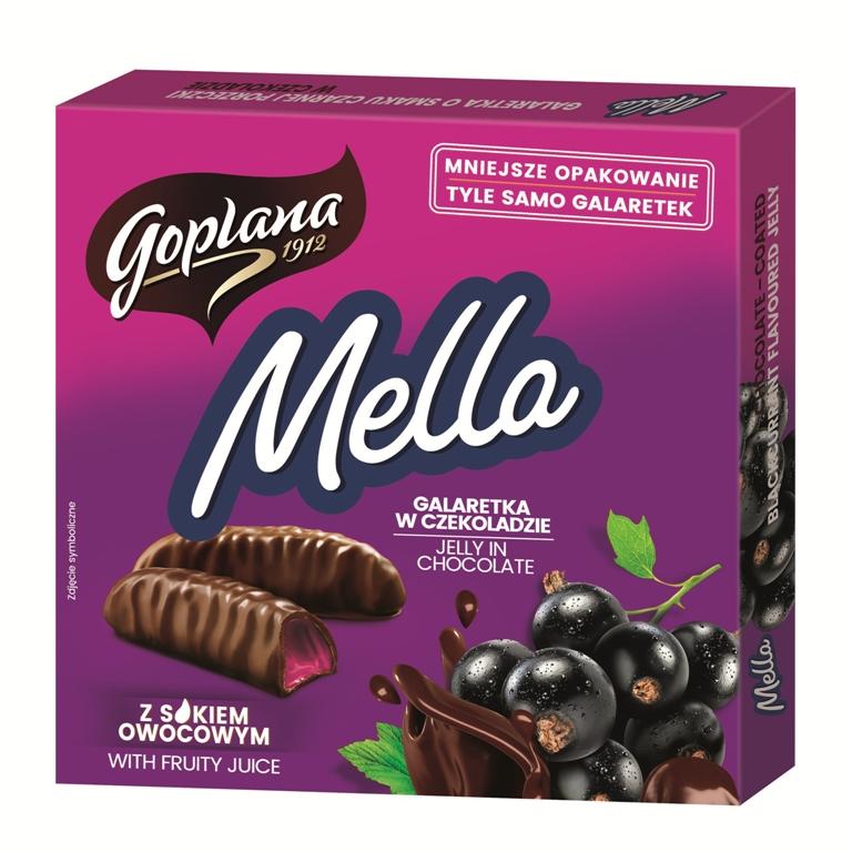 Мелла - черная смородина 190г
