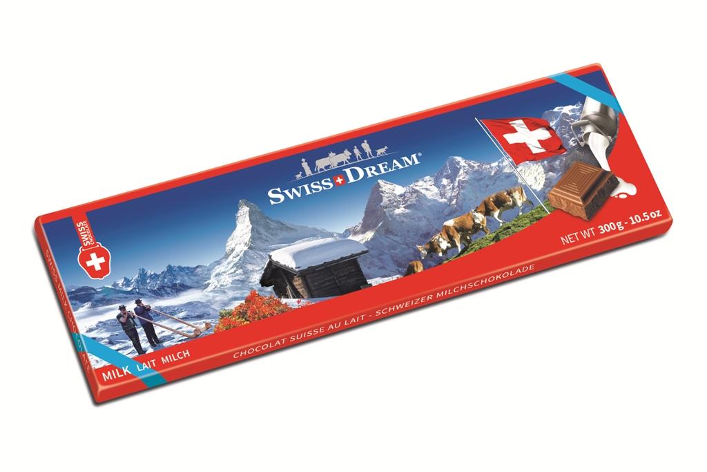 Швейцарский стандарт молочный 300г