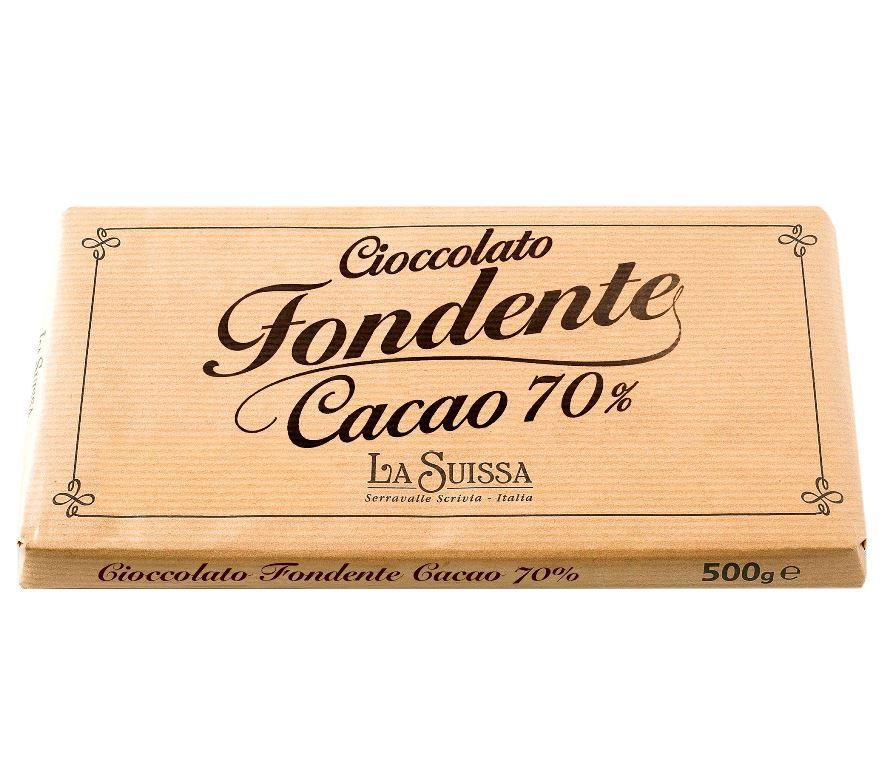 Горький шоколад 70% 500г