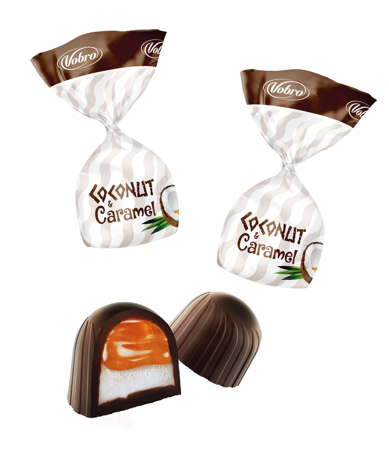 Кокосово-карамельные 1кг