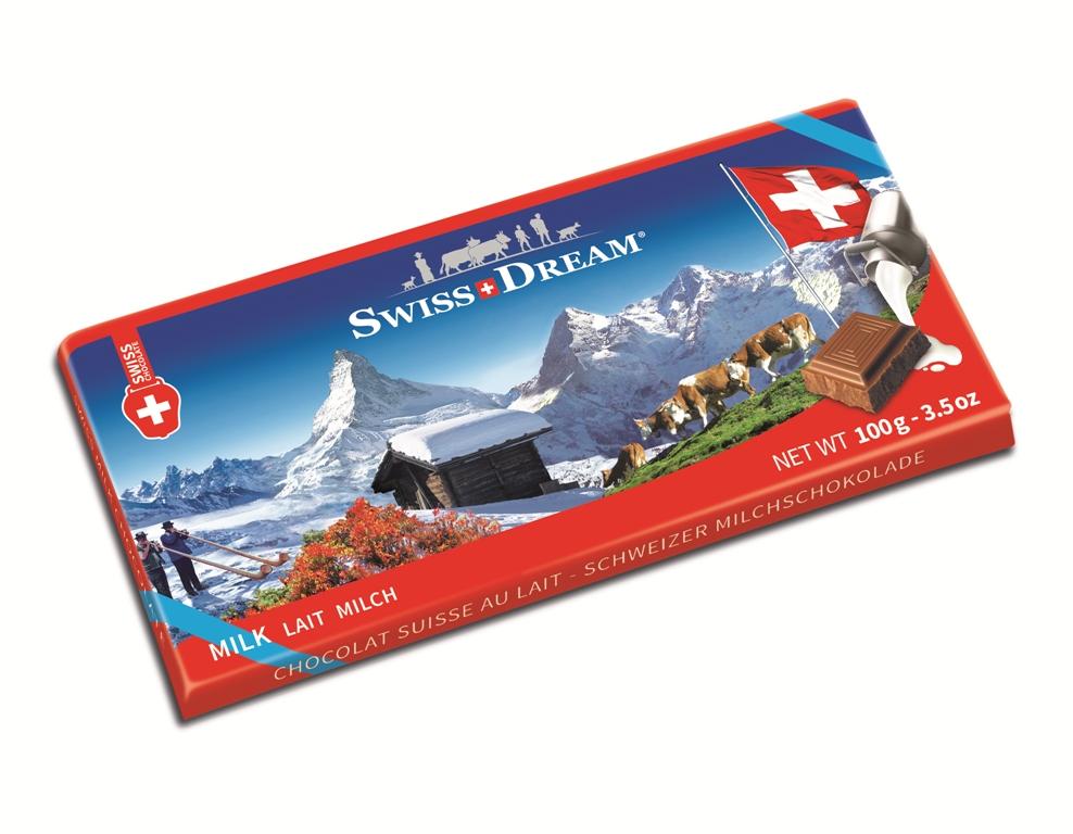 Швейцарский стандарт молочный 100г