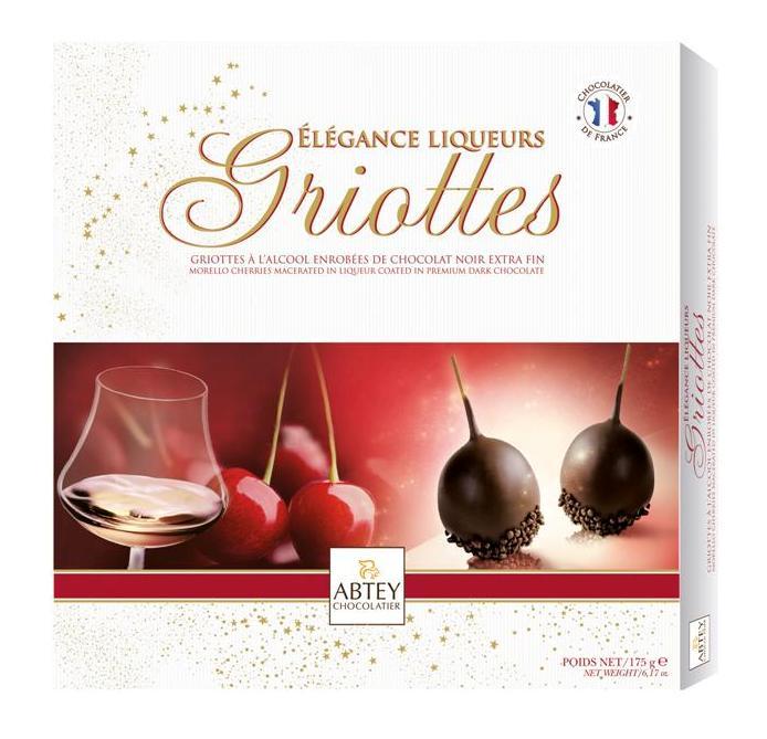 Французский десерт (ликерная вишня) 175г